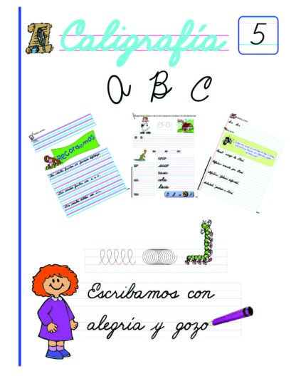 5P - Caligrafía Color-0