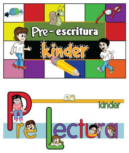 K - Pre-Lectura / Escritura Meses 1-3 Color-0