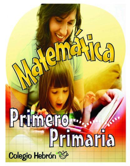 1P - Matemática Meses 1-3 Color-0